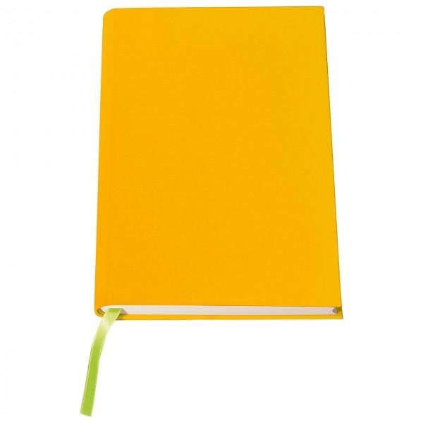 """Regenbogen-Notizbuch """"Sonnengelb"""""""