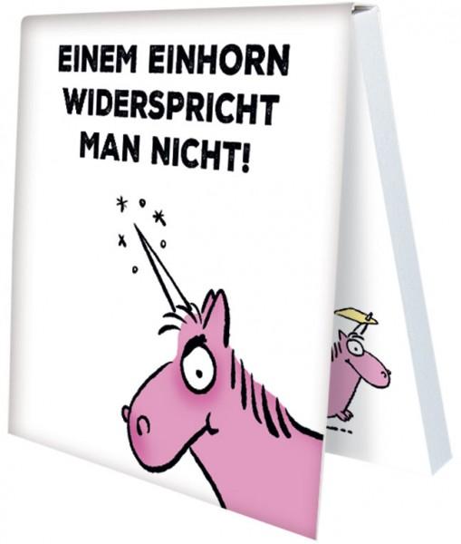 Klebezettel 'Nicht widersprechen' von Alexander Holzach