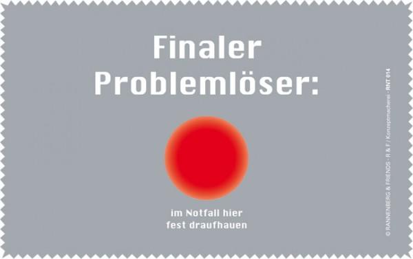 Netbooktuch 'Finaler Problemlöser'