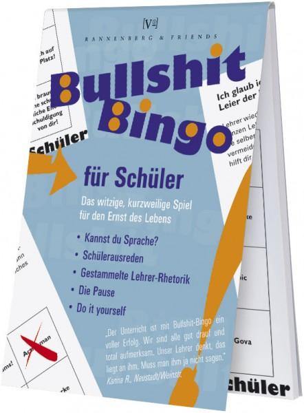 Spieleblöckchen 'Bullshit-Bingo Schüler'