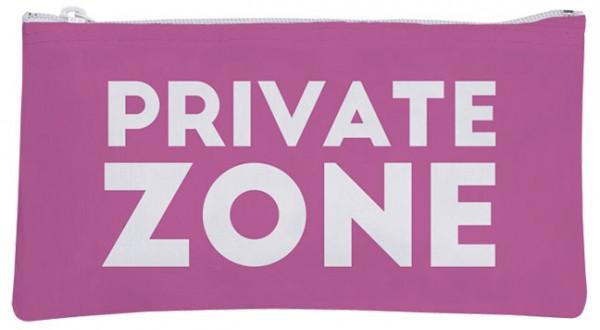 Etuitasche 'Private Zone'