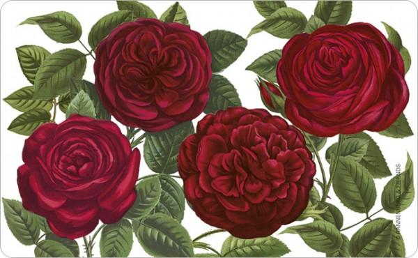 """Brettchen """"Rote Rosen """""""