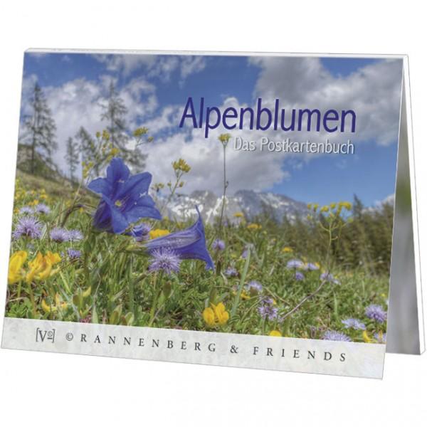 Postkartenbuch 'Alpenblumen'