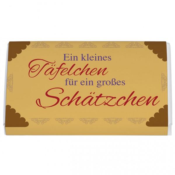 Schokoladentäfelchen 'Kleines Täfelchen'