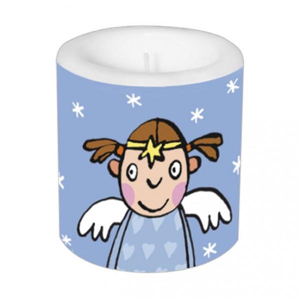 Lampionkerze 'Engel auf Wolke'