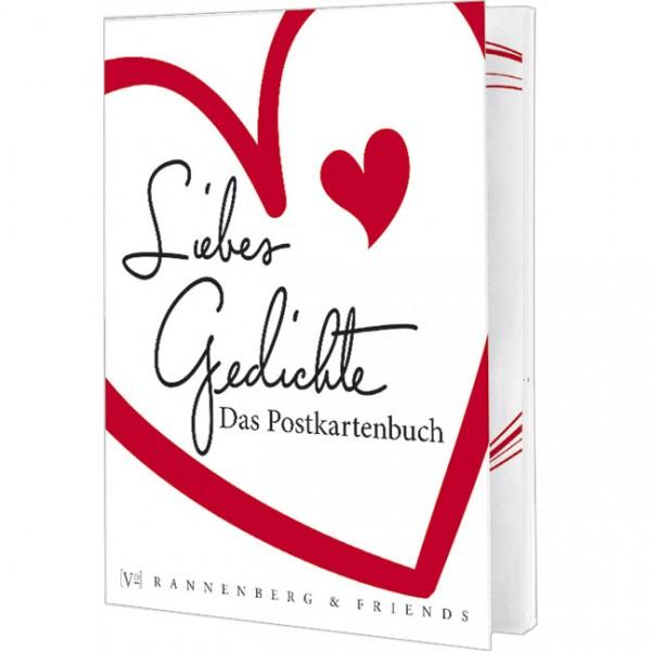 Postkartenbuch 'Liebes-Gedichte'