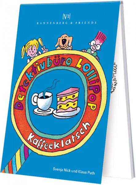 Spieleblöckchen 'Kinderkrimi Kaffeeklatsch'