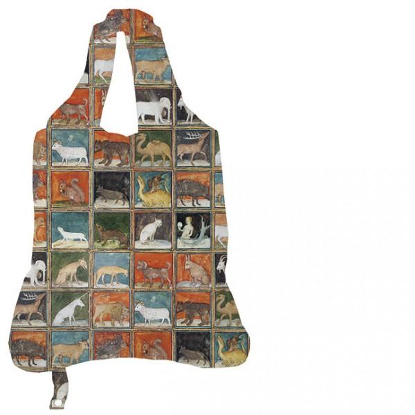 Einkaufsbeutel 'Mittelalterliche Buchmalerei Bestiarium' aus Le Livre des Proprietes des Choses
