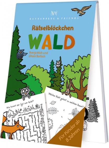 Spieleblöckchen 'Wald - Rätselblöckchen' von Svenja Nick / Charts Bartsch