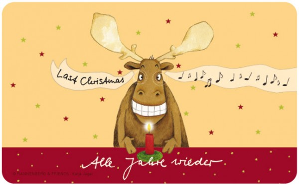 Frühstücksbrettchen 'Last Christmas'