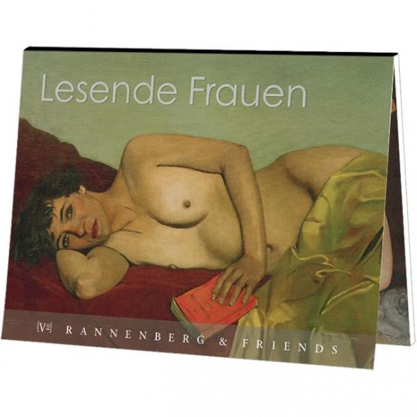 "Postkartenbuch ""Lesende Frauen"""