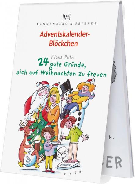 Adventskalenderblöckchen '24 gute Gründe, sich auf Weihnachten zu freuen ' von Klaus Puth -RSBW 009