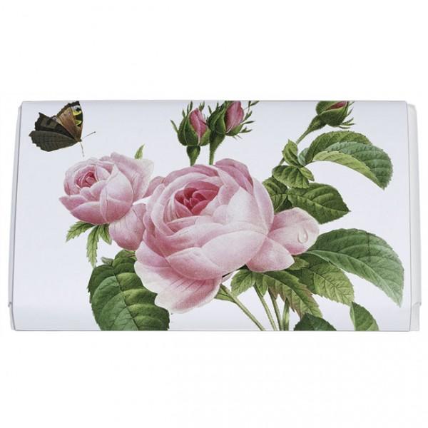 Schokoladentäfelchen 'Rosa centifolia' von Pierre Joseph Redouté