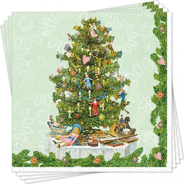 """X-Mas Servietten """"Traditioneller Weihnachtsbaum"""""""