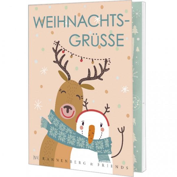 """Postkartenbuch """"Weihnachtsgrüße"""""""